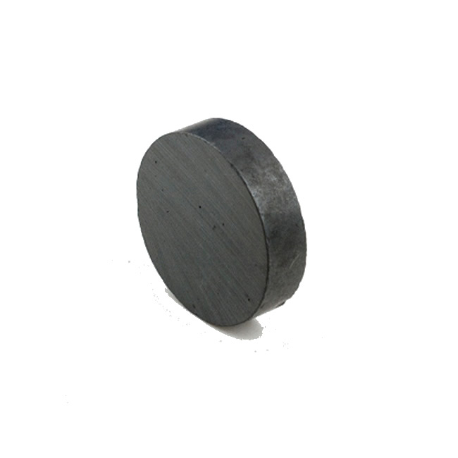 Affordable Cost Axially Magnetized Ferrite Magnet Round Shape 40mmX10mm