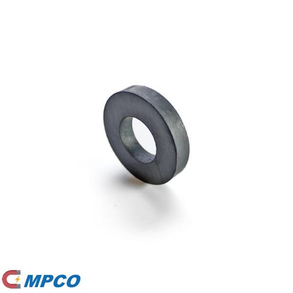 Audio Ring Shape Ceramic Ferrite Magnet D45X22X8mm
