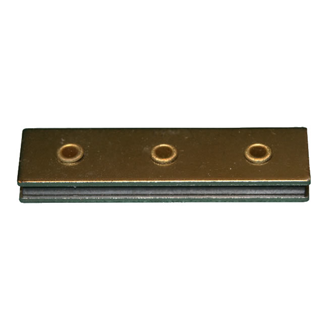 Channel Sandwich Magnetic Assembly Ferrite Magnet with 3 Holes