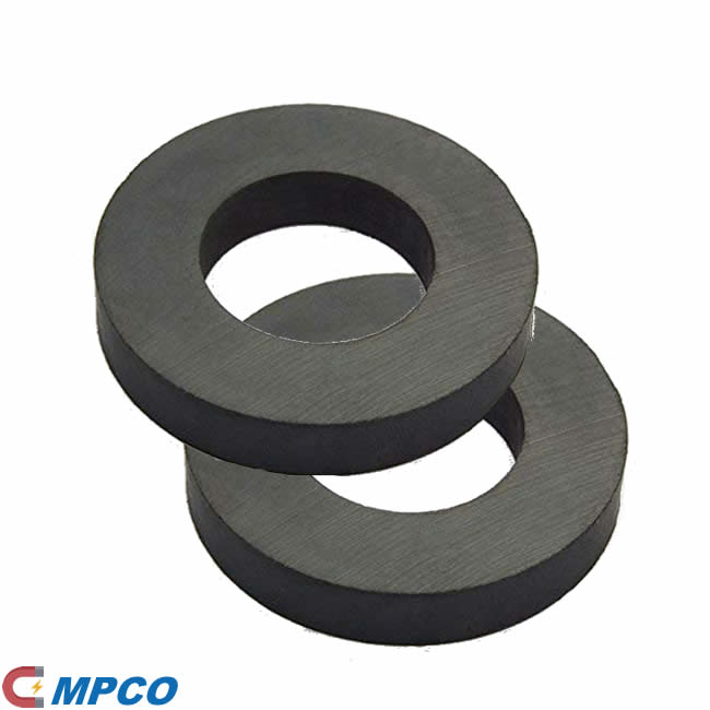 Custom Diameter Size Multipole Ring Ceramic C8 Magnet
