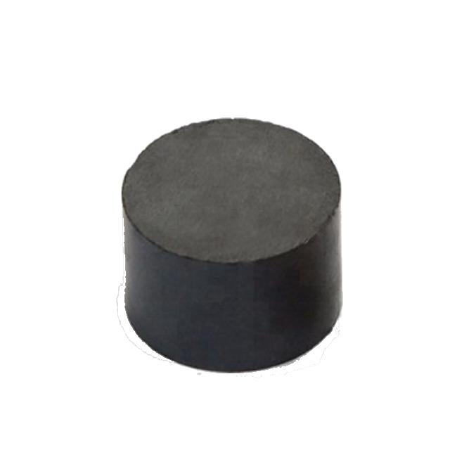 Custom Made Sintered Ferrite Disc Cylinder Magnet D25mmX20mm