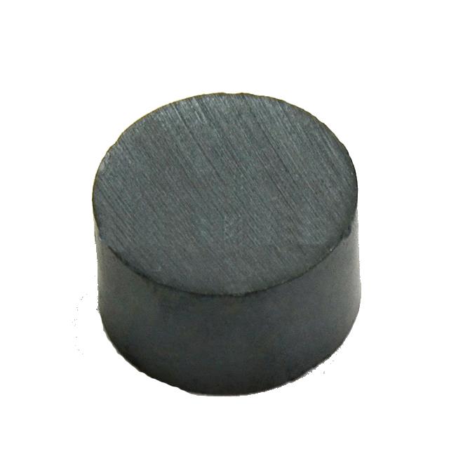 Custom Standard Disc Permanent Ferrite Magnet Y30 D35mmXH25mm