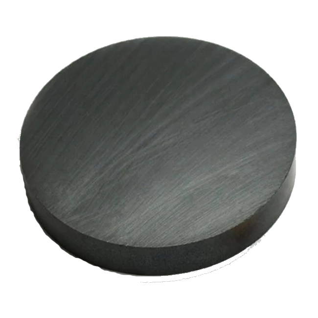 Diametrically Magnetized Round Disc Ceramic Magnet