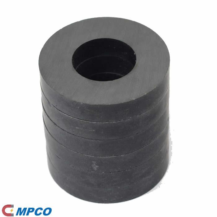 Economic Ceramic Ring Magnets OD40mm x ID22mm x 6mm
