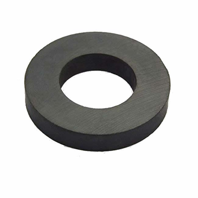 Economic Permanent Hard Ferrite Magnet Ring