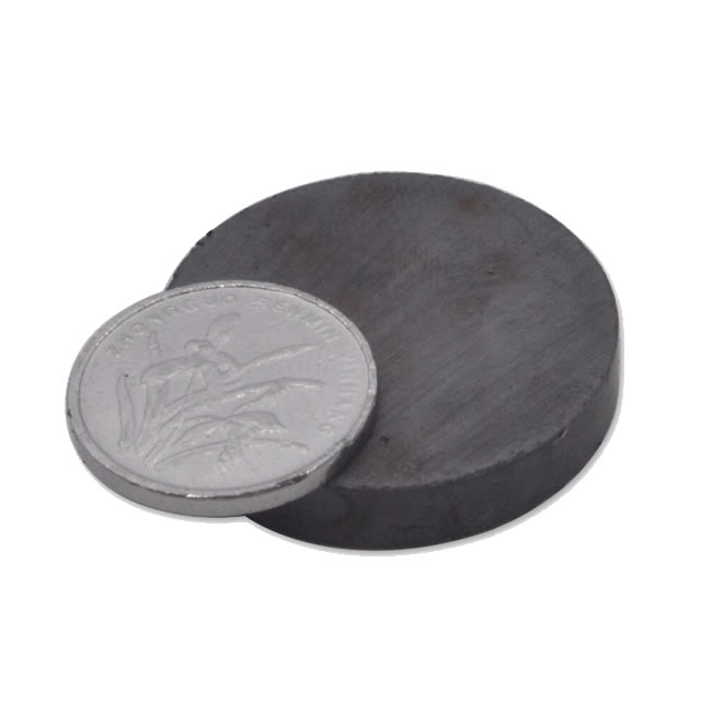 Free Shipping Round Disk Shaped Ferrite Magnet Y33 D30mmX5mm