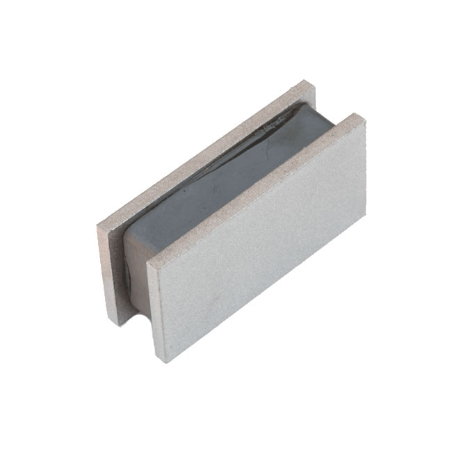 Grade 8 Ceramic Block Magnet Sandwich Assemblies