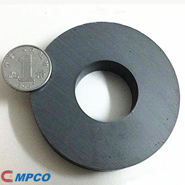 Grade 8 Ceramic Ferrite Ring Magnet OD100mm x ID60mm x T20mm