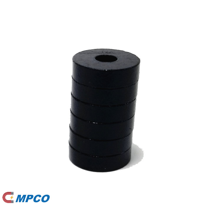 Injection Bonded Ferrite Ceramic Ring Shaped Magnets