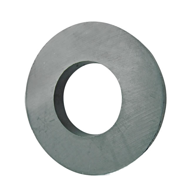 Large Audio Loudspeaker Sintered Ferrite Ring Magnet Y35 D100X40X15mm