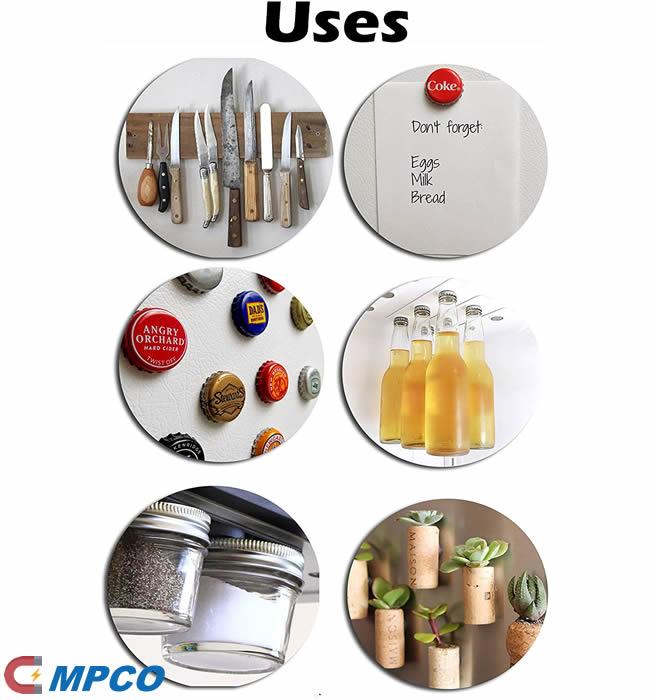 Multipurpose Ferrite Ring Circular Magnets Use Applications