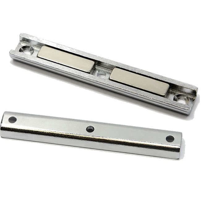 NdFeB Rectangular U-Channel Magnet with Countersink Mounting Holes