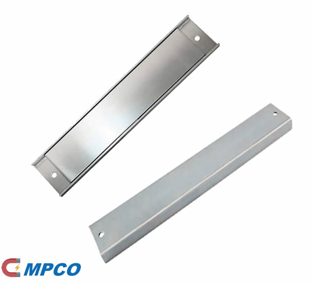 Neodymium Channel Magnet Assemblies with 2 Holes for Mounting