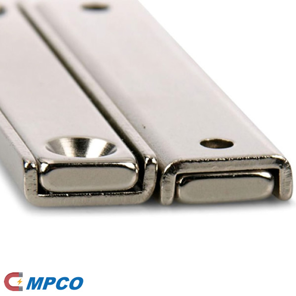 Neodymium Countersunk Channel Cup Magnets