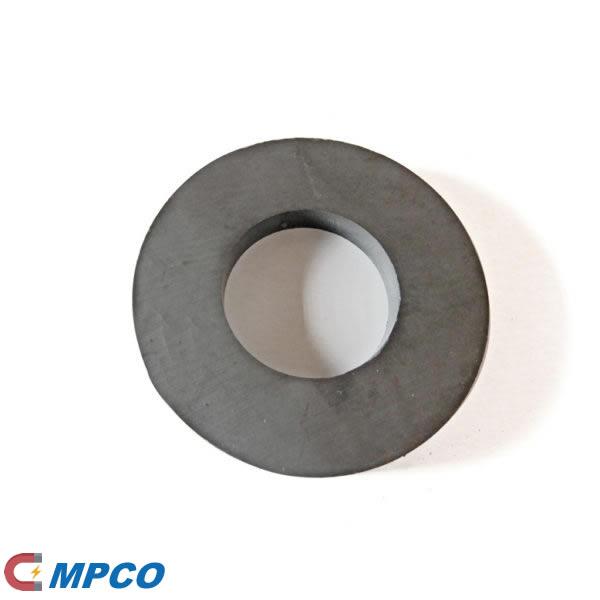 Ring Shape Sintered Ferrite peaker Magnet D72X32X10mm