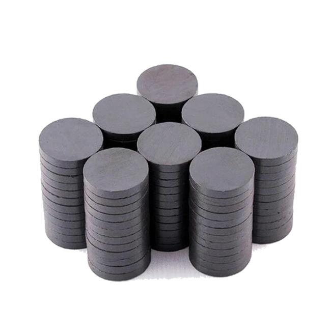 Round Flat Circle Ceramic Magnets C9 D20mmX3mm
