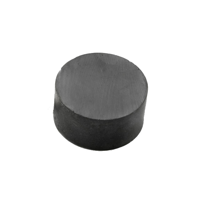 Round Shaped Ferrite Permanent Fridge Magnet Y33 22mmX10mm