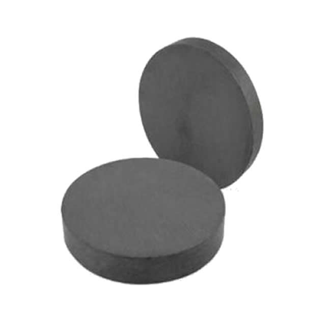 Strong Round Disc Shape Ferrite Magnet Price D22mmXH4mm