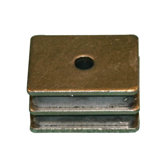 Three Plated Steel Sandwiched Assembly Permanent Magnets