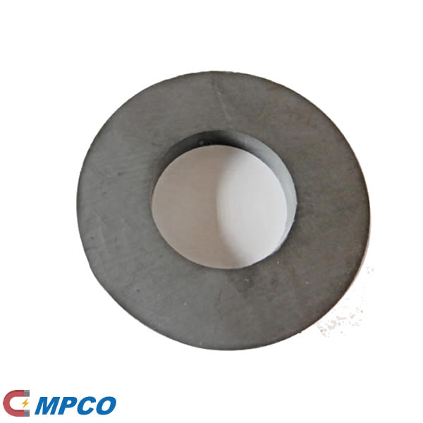 Y25 Sintered Ferrite Speaker Magnet Ring D80X40X10mm