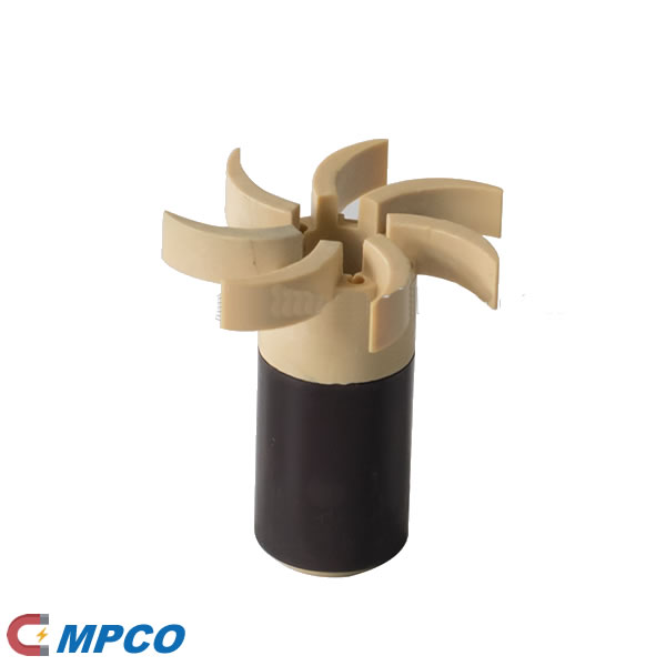 injection plastic bonded magnet for water oil pump