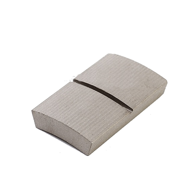 High Curie Temperature Custom Arc Sector Sintered Sm2Co17 Magnet