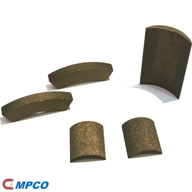 High Curie Temperature SmCo Custom Permanent Motor Magnets