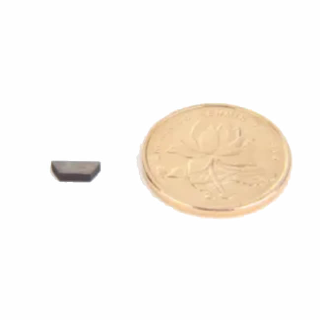 Small Special Shaped Trapezoid SmCo Magnet