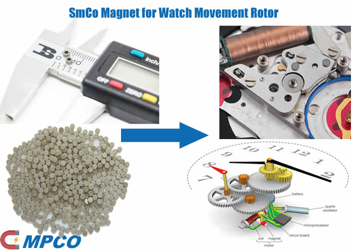 Watch Movement Rotor Magnet