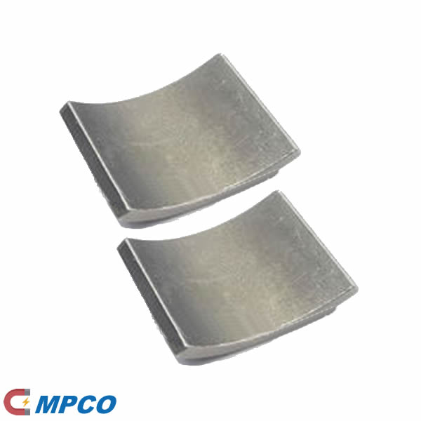 high efficiency smco permanent magnets for rotating, airfoil-based compressor