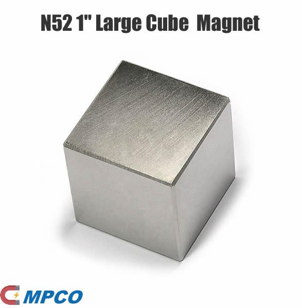 1 x 1 x 1 inch NdFeB Rare Earth Cube Magnet N52