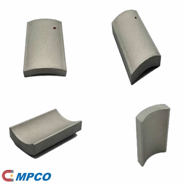 Curved Segment Magnets SmCo for Electric Motors and Generators