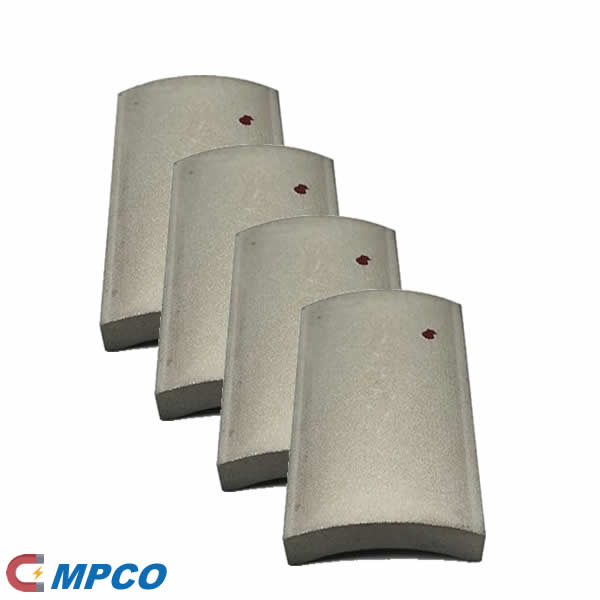 High Speed Torque Brushless Motor Arc Curved SmCo Magnet