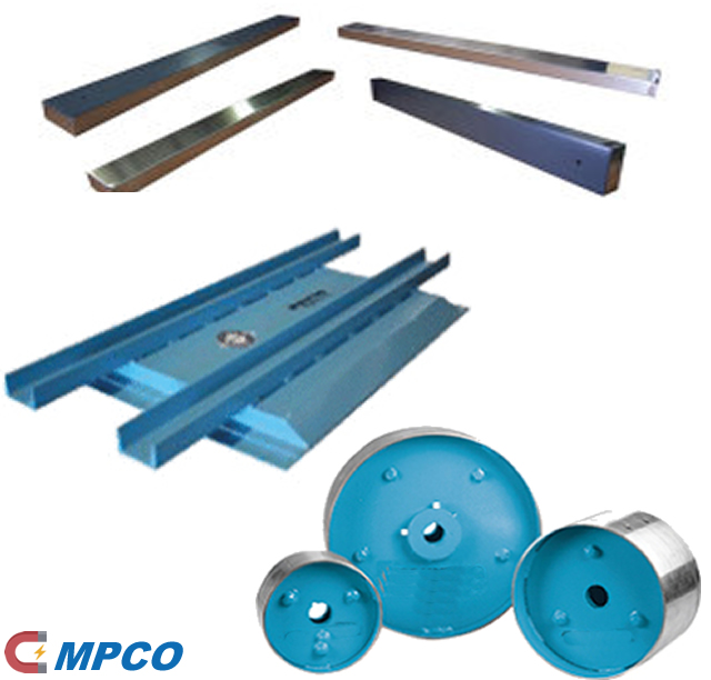 Magnetic Conveyor Components – Pulleys, Rails, Rollers