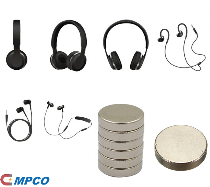 Neodymium Magnets Used in Headphones