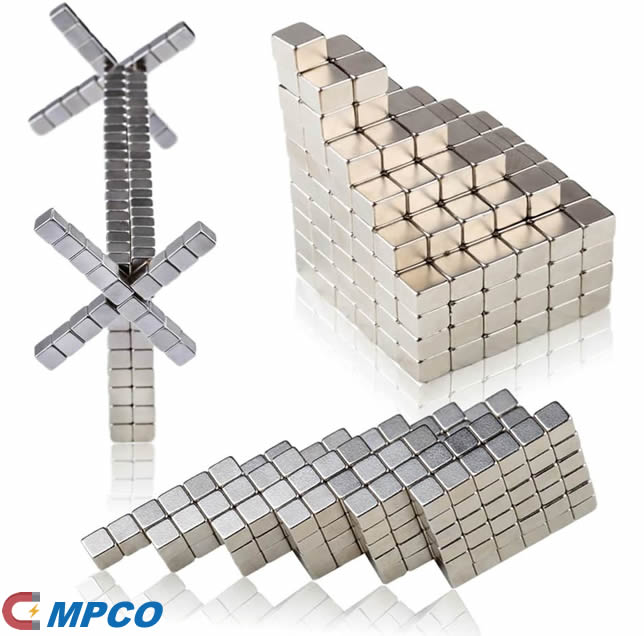 Powerful Neodymium Cube Magnets