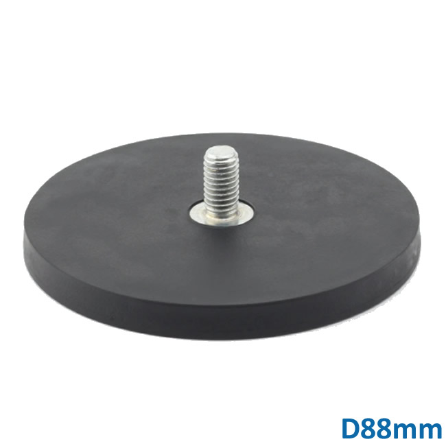 D88 Rubber Coated Magnetic Assembly Working Light Fixture Magnets