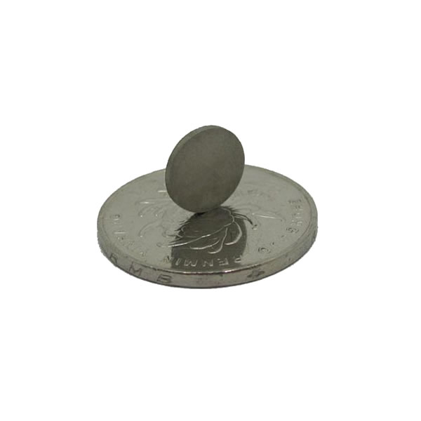 10x1mm High Grade Thin Thickness Sintered SmCo Disk Magnet