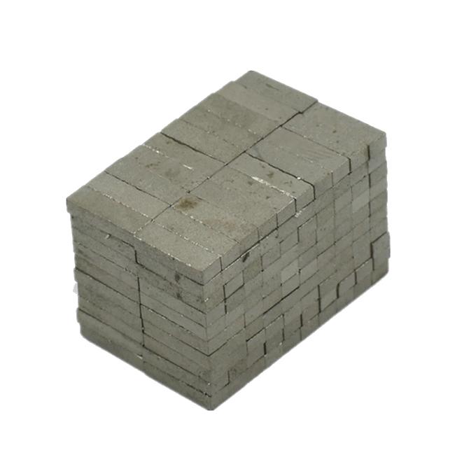 10x2x3mm Through Thickness Poles Sm-Co Block Magnet YXG-28H