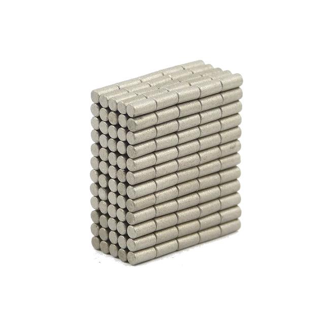 2mm Dia x 6mm Tiny Samarium Cobalt Magnets Rod Bar Shape