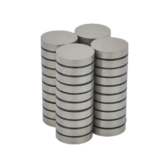 D30X6mm SmCo217 350 degree C High Temperature SMT Disc Rare Earth Magnets