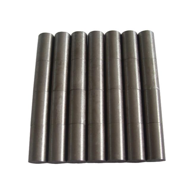 High Gauss No Coating Rod Samarium Cobalt Magnets D6xH18mm