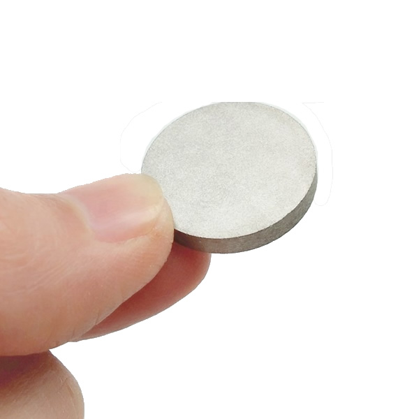 High Temperature 350 Degree Celsius Magnetic Smco Disc Dia 20X3mm