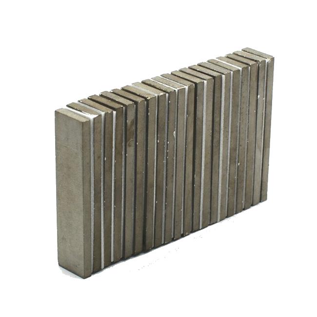 Permanent Rare Earth Magnets SmCo Bars 50x12x3mm