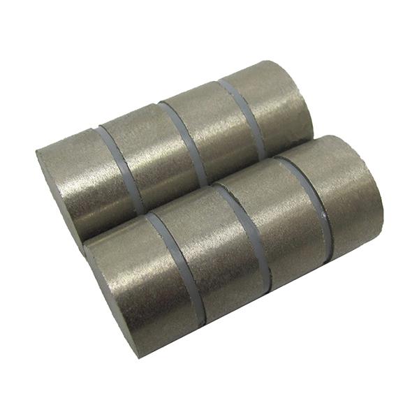Rare Earth Disk Sm2Co17 Samarium Cobalt 5G Circulator Permanent Magnets