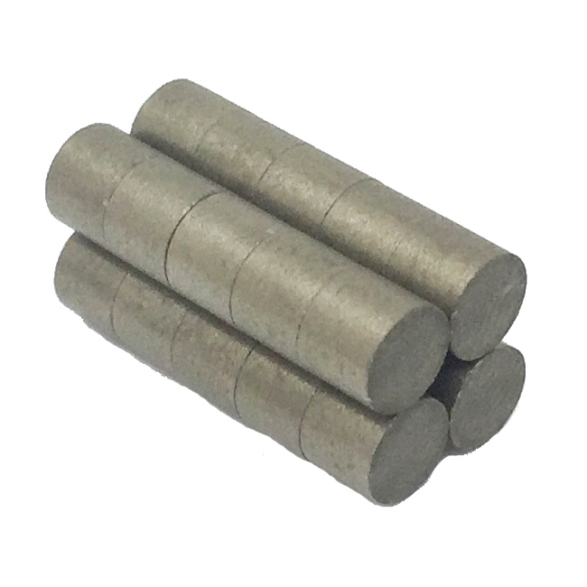 Rare Earth Samarium Cobalt Cylinder Rod Magnets D15xH20mm
