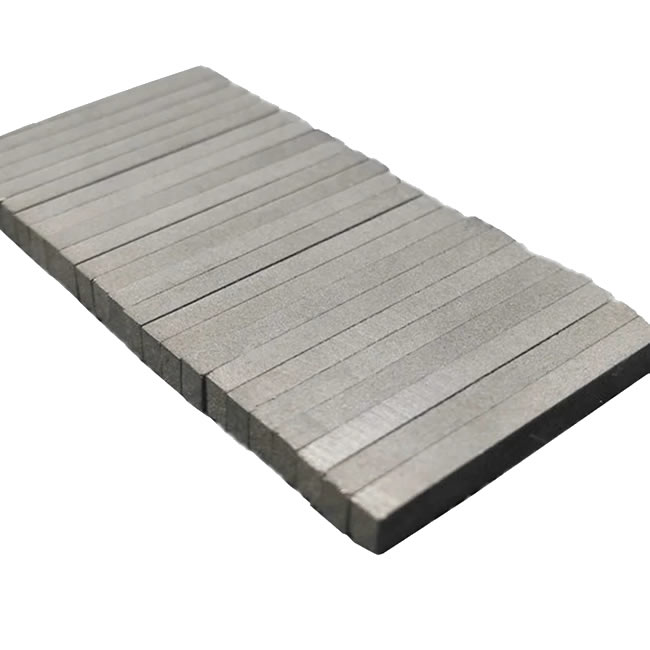 Rectangular Smco Magnets 25x3x2mm Grade YXG-28H