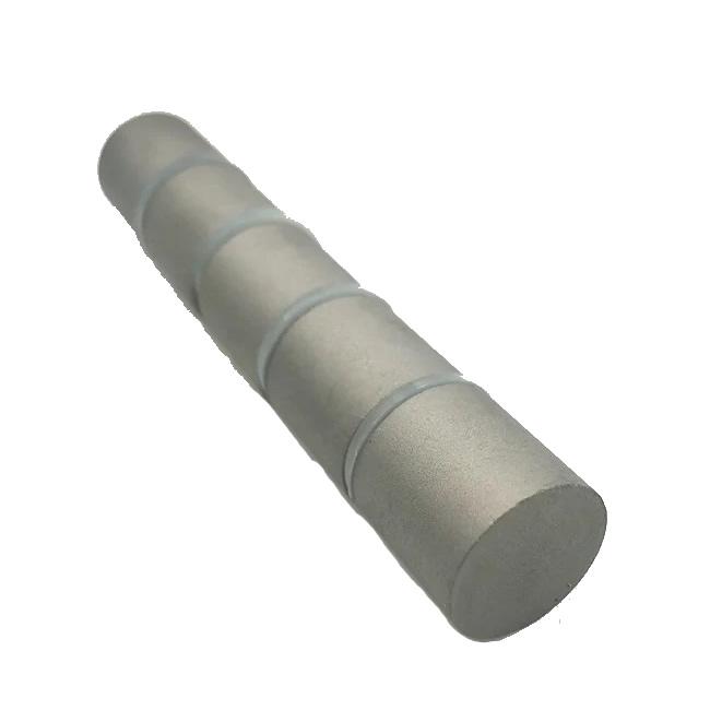 Samarium Cobalt Cylinder Rod Magnet Magnetized Through Axial