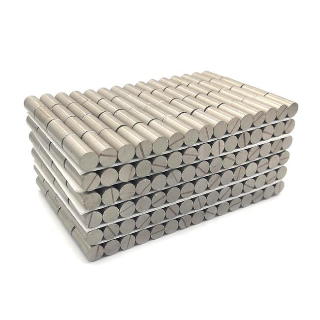 Samarium Cobalt Small Rod Disc Magnets D7xH15mm