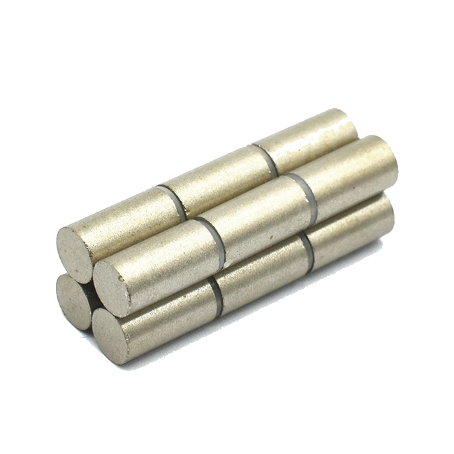 Sintered SmCo Diametrically Magnetized Cylinder Shape Magnets